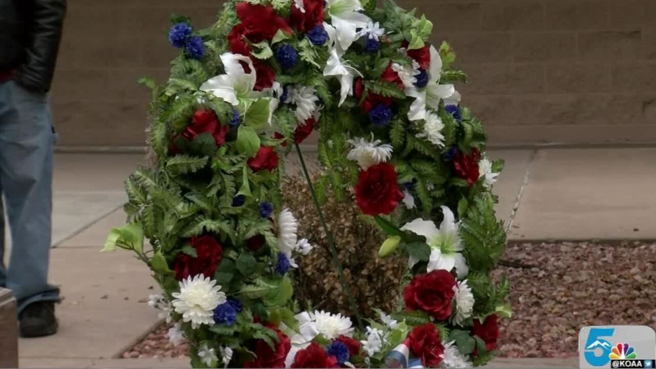 Veterans Day Wreath Cermony