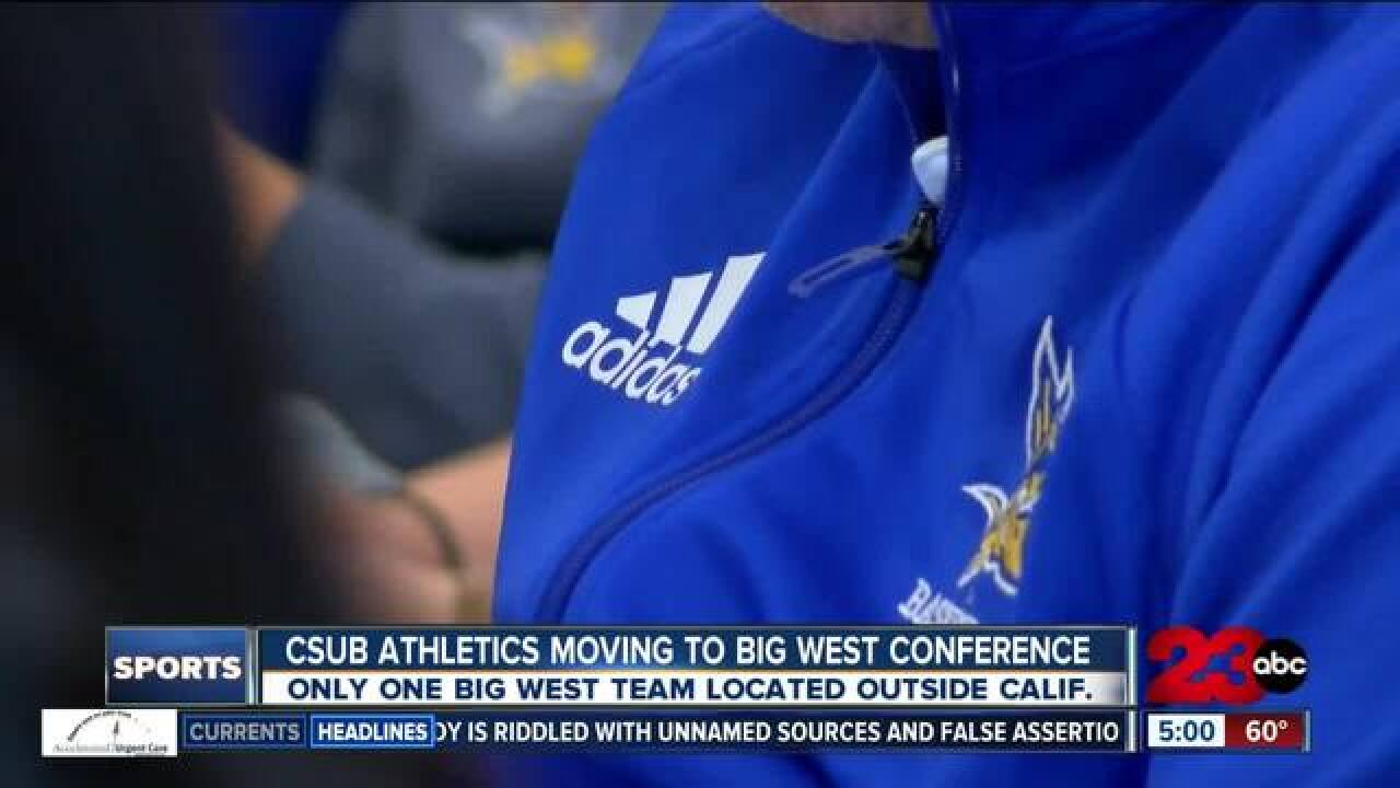 Cal State Bakersfield to move to Big West Conference in July