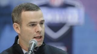 Bills GM Brandon Beane discusses Diggs trade, draft plans