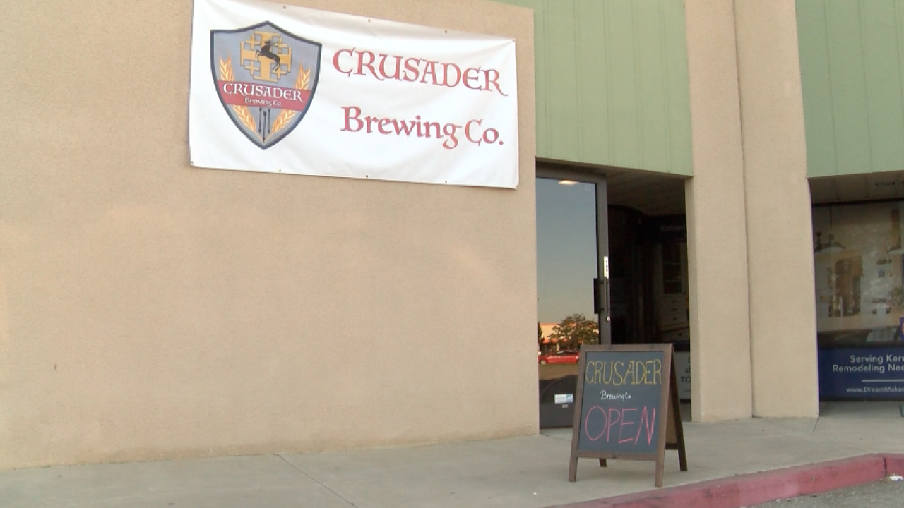 Crusader Brewing Opens