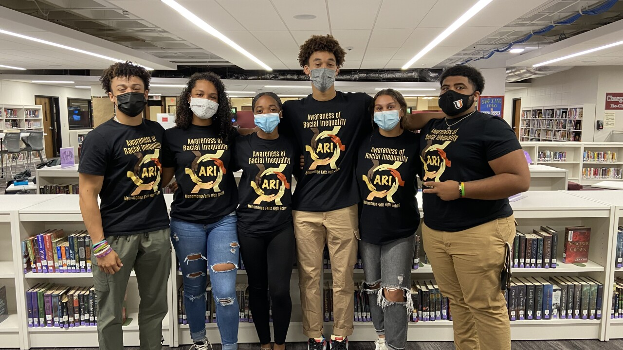 Awareness of Racial Inequality student members