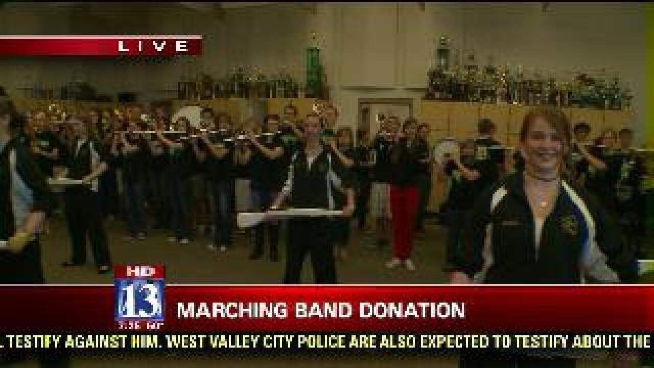 Davis High band raising funds for trip to parade
