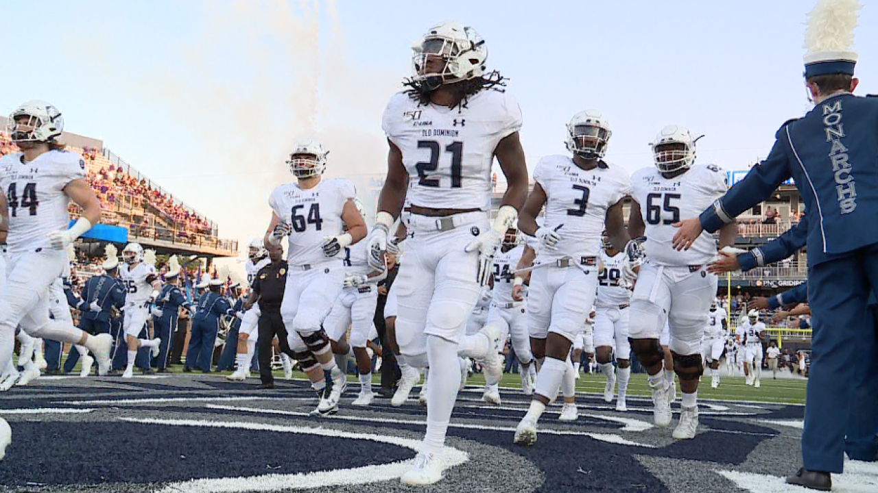 ODU football falls to Marshall, 31-17