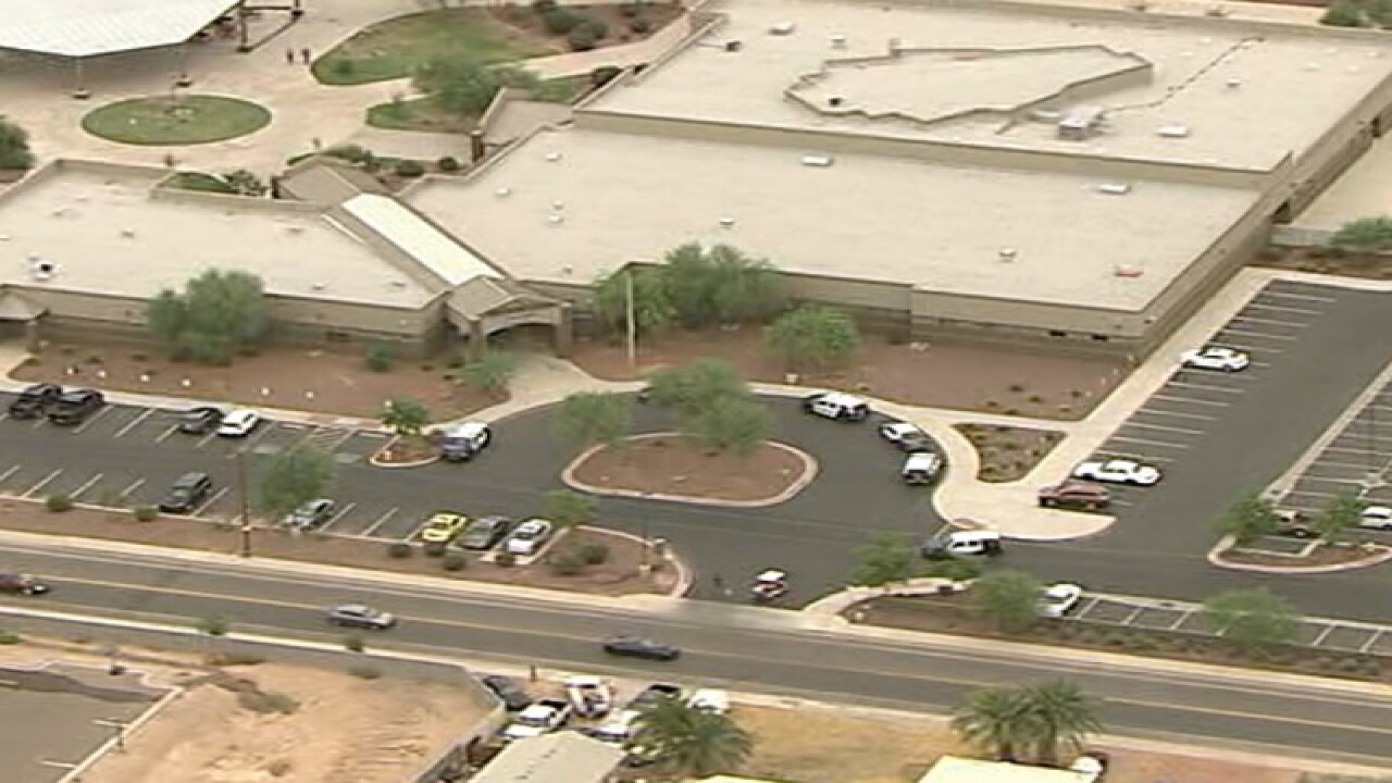 Maricopa HS on lockdown due to threat
