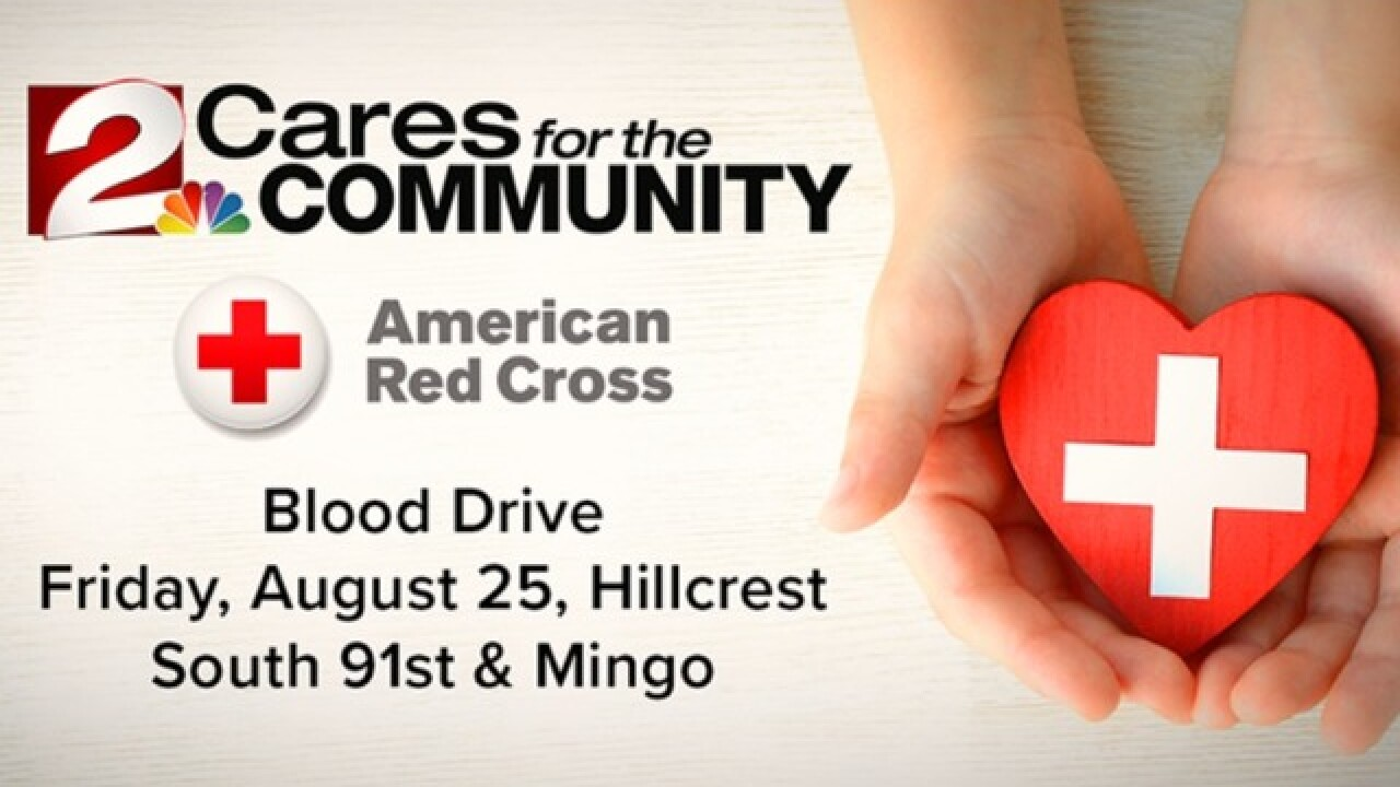2 Works for You hosts 2 Cares for the Community Red Cross