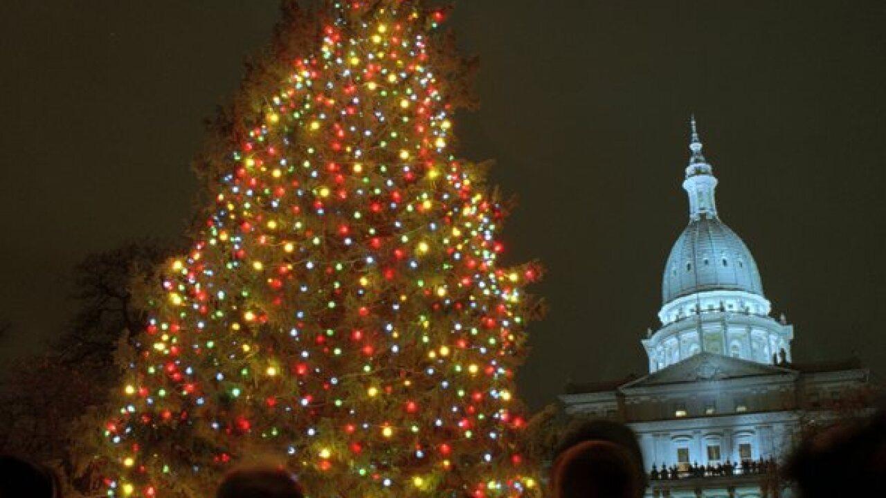 Mich. History Throwback: Michigan Christmas Tree