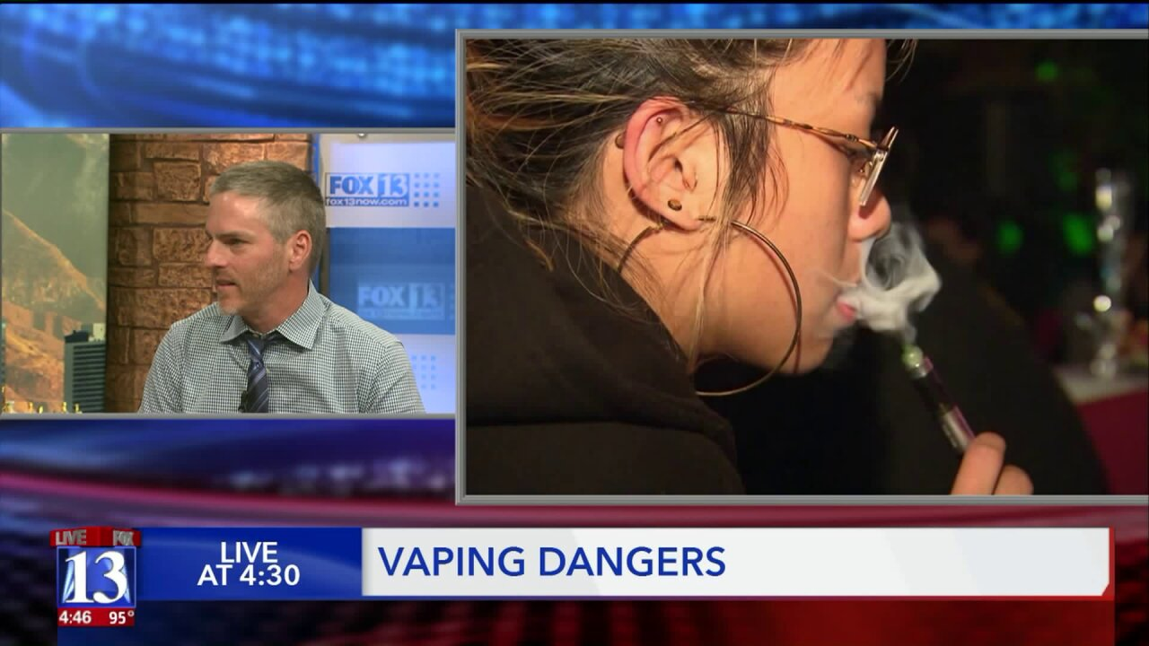 Is vaping a safer alternative to smoking? U. lung expert says vaping has its own risks