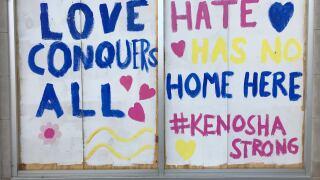 Kenosha mayor announces plans to rebuild, move city forward