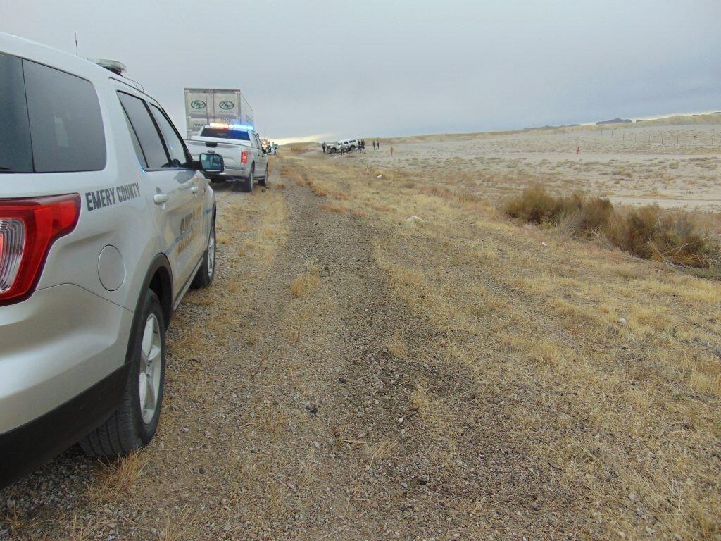 Photos: Two dead in rollover crash near GreenRiver