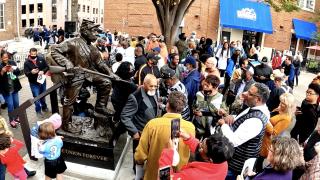 Black Civil War statue