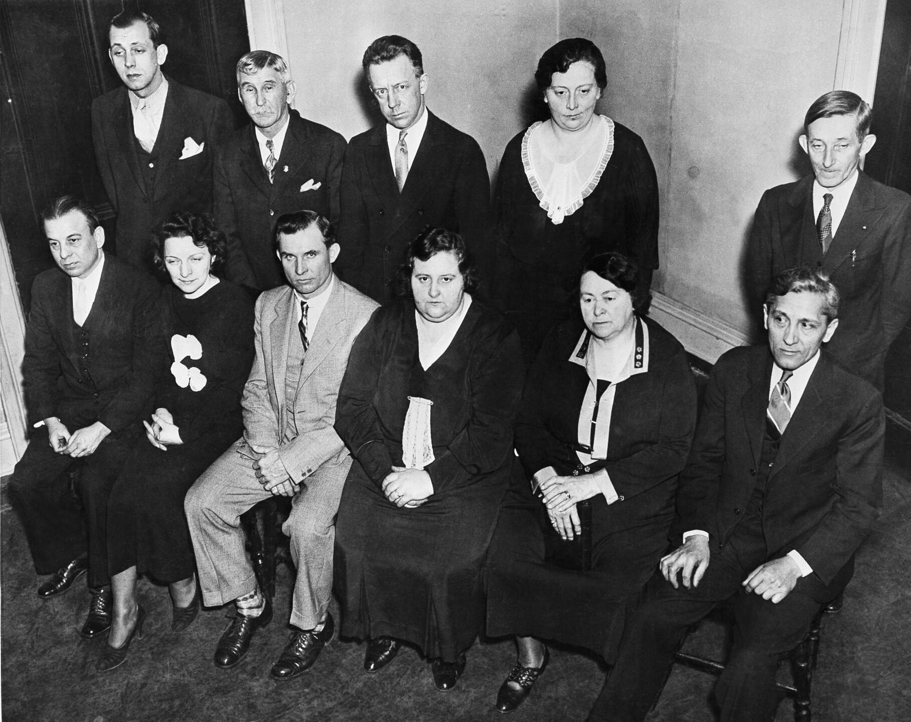 Charles Lindbergh  Kidnap  Case   trial