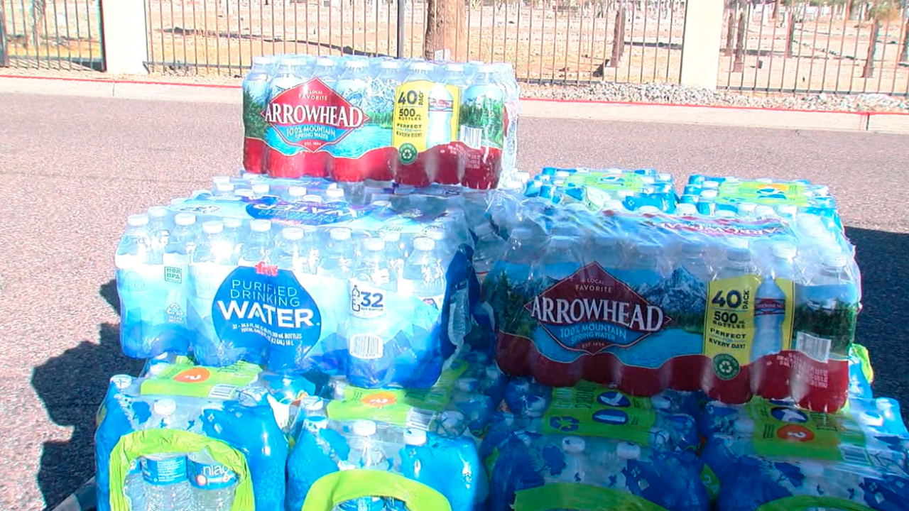 Water drive for homeless