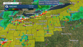 Severe weather July 19