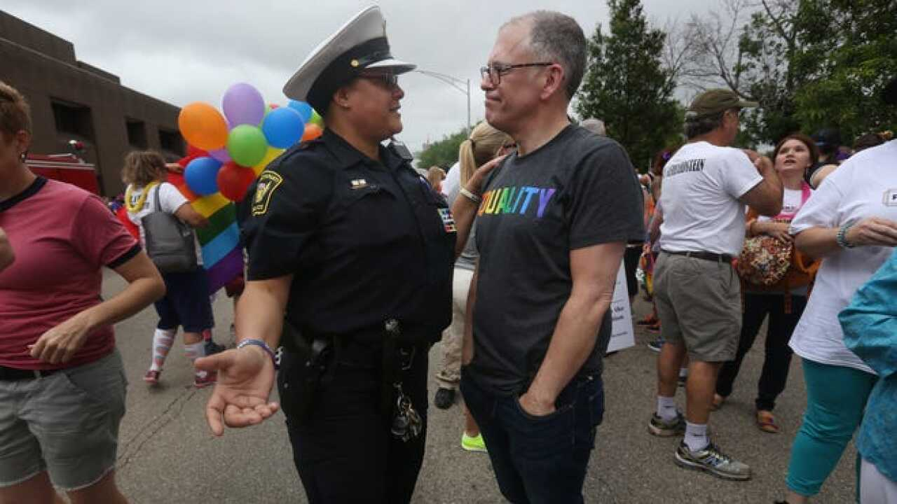 CPD LGBTQ liaison Lisa Johnson