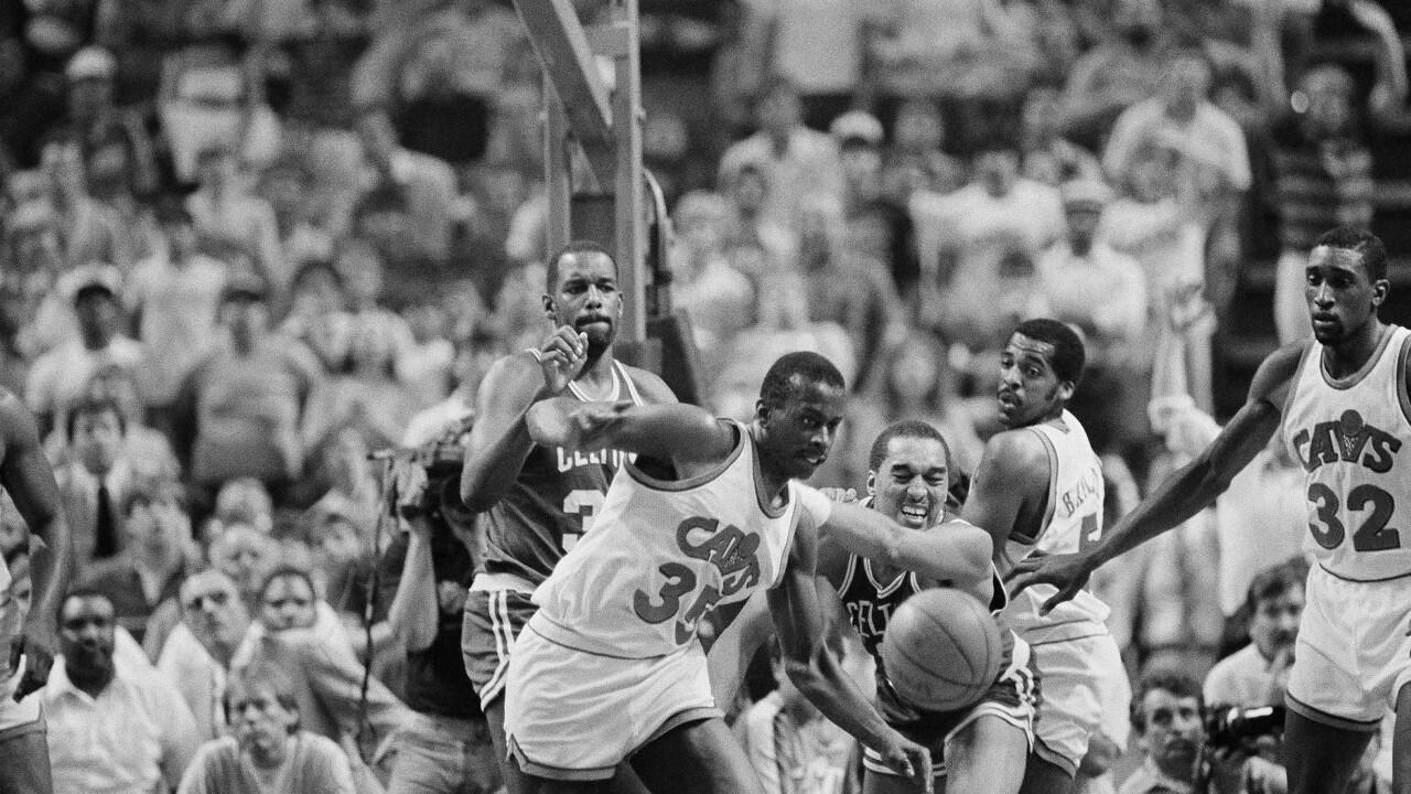 Celtics vs Cavaliers NBA Playoffs 1985