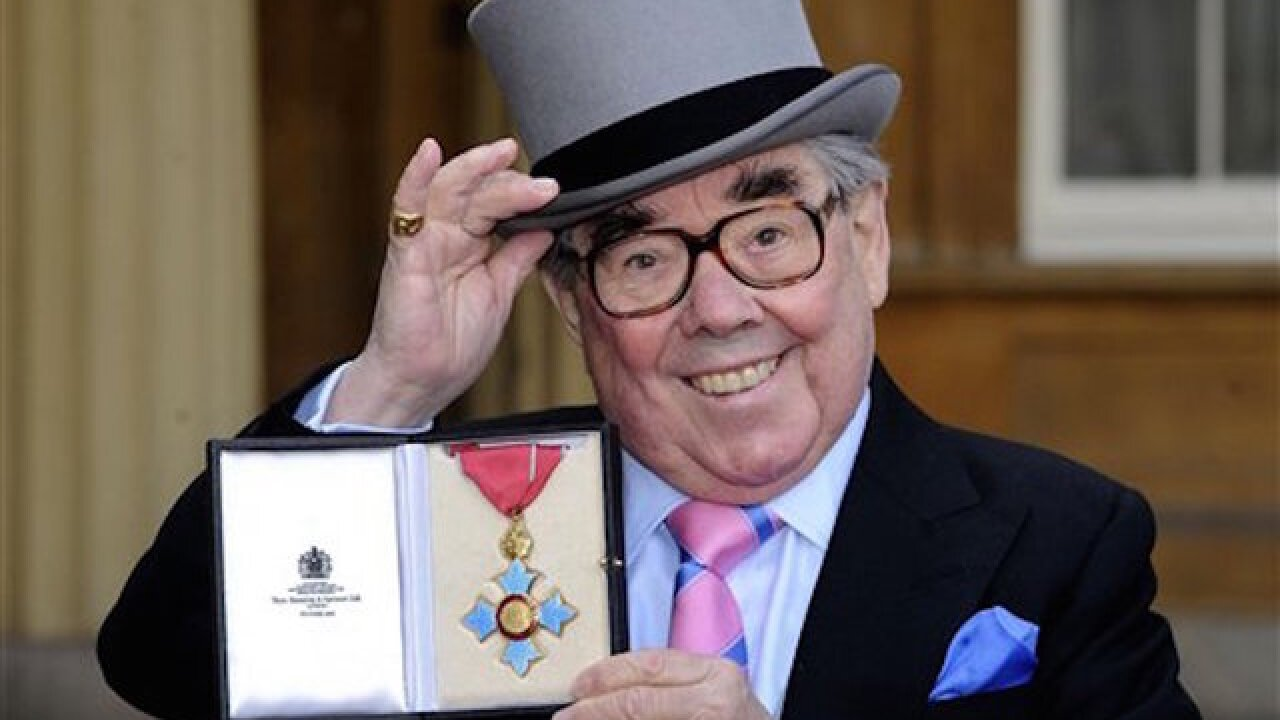 British comedian Ronnie Corbett has died at the age of 85