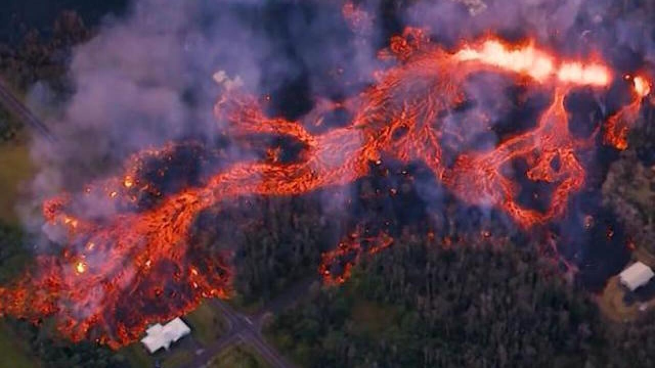 Hawaii residents could face acid rain after earthquakes and molten lava