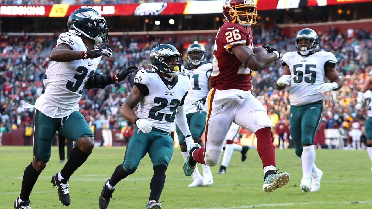 Redskins fall to Eagles in thrilling NFC East clash, 37-27
