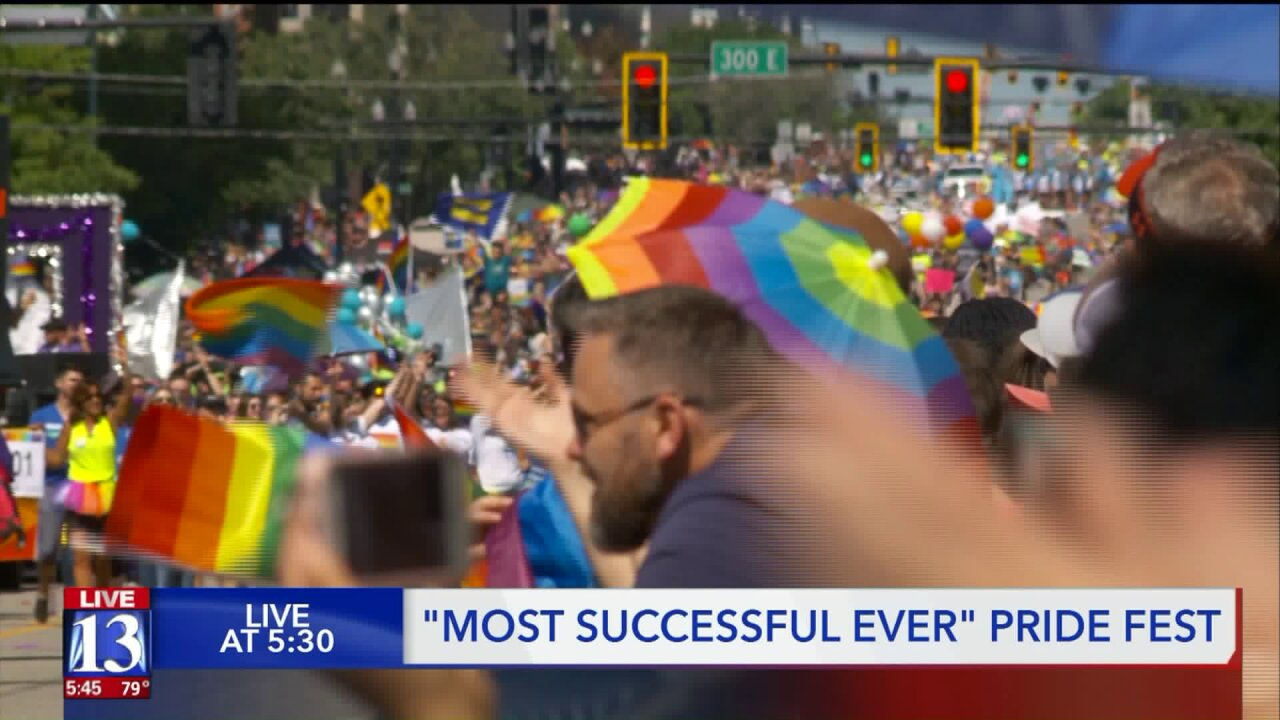 2019 was Utah's 'most successful Pride Festival ever'