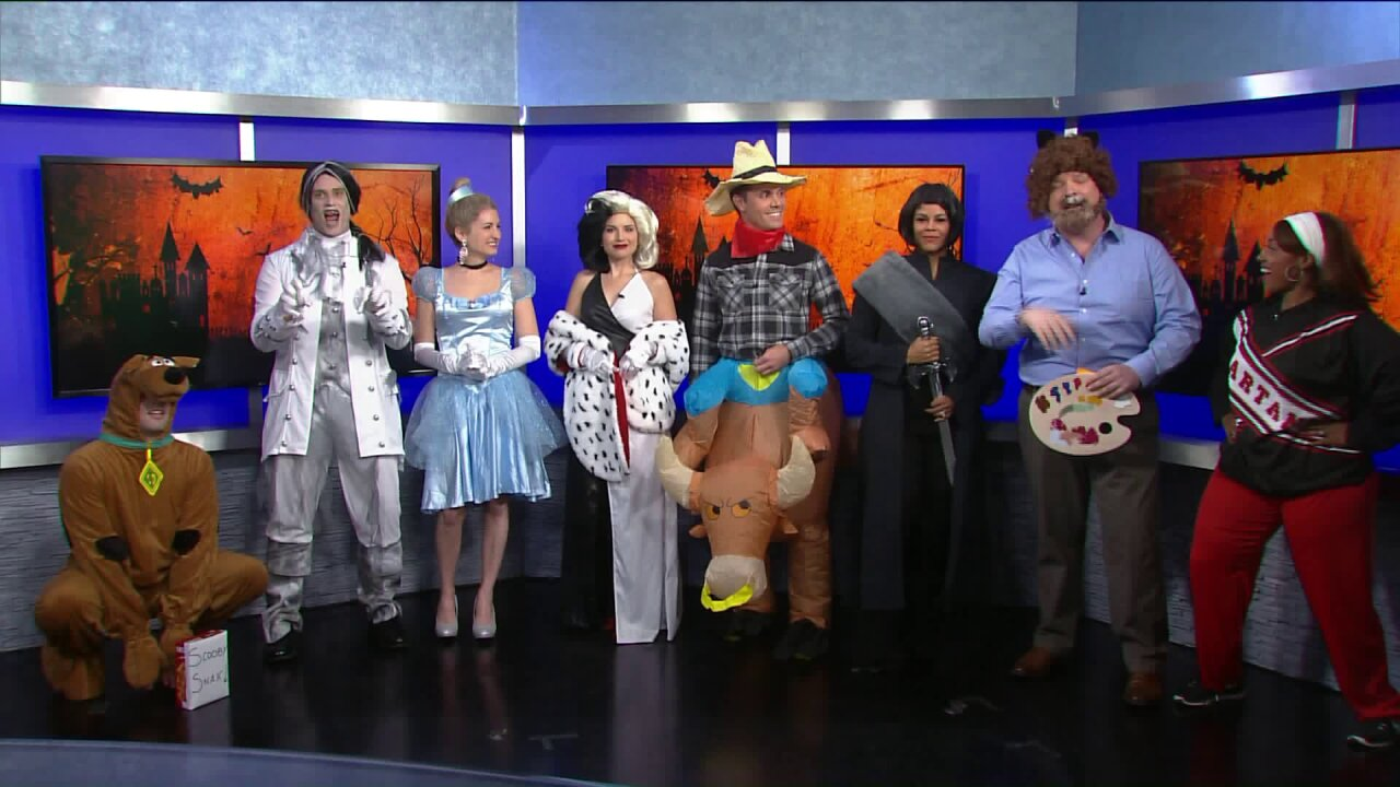 The reveal is here! Check out News 3 This Morning's 2019costumes