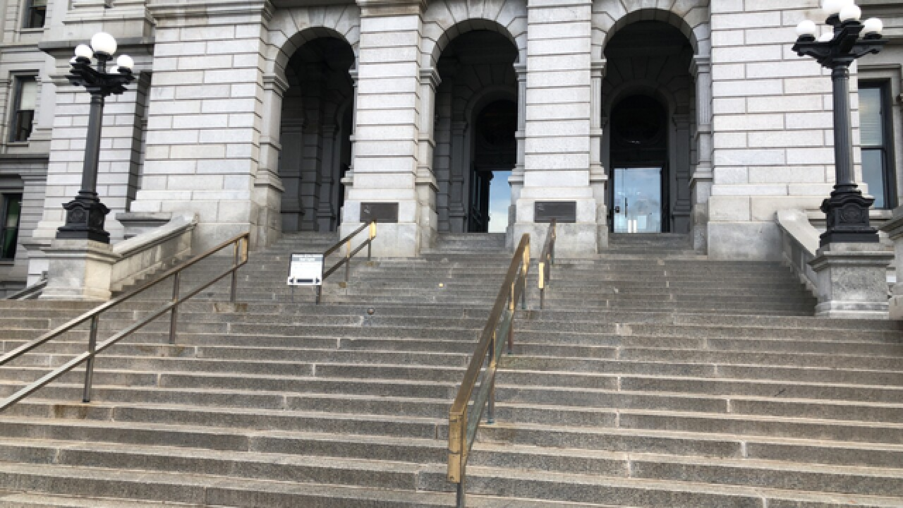 Authorities investigating package found wrapped in American flag on Colorado Capitol steps