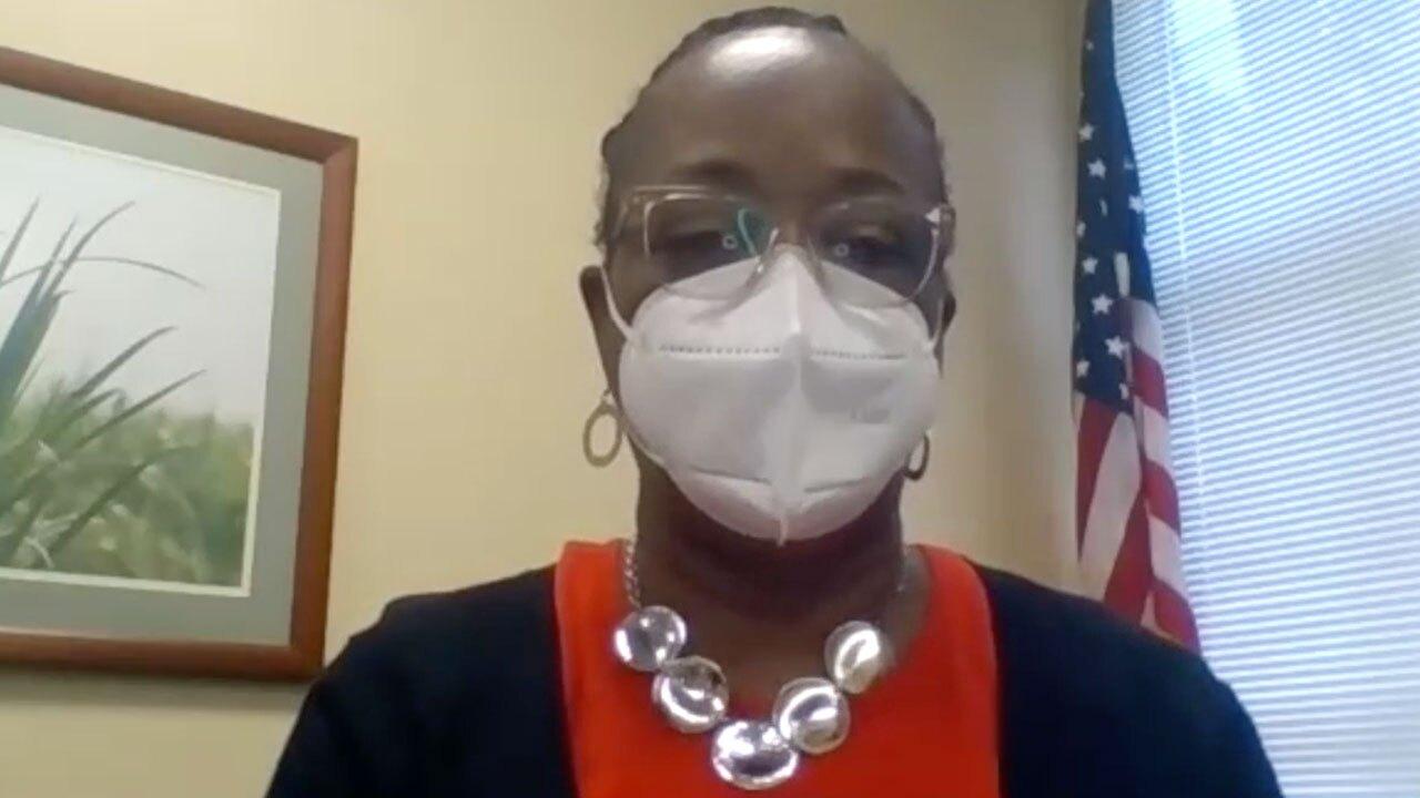 Janet Moreland, associate vice president at Lakeside Medical Center.