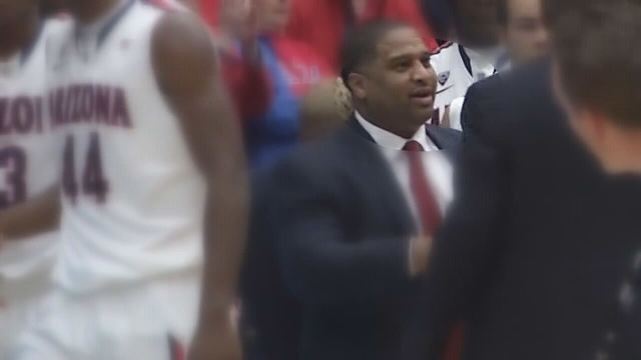 UA fires FBI-charged assistant basketball coach