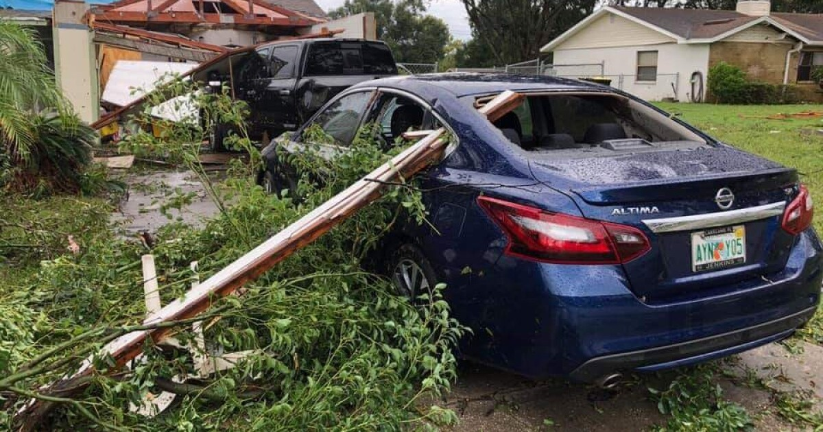 EF-2 tornado with 120 mph winds confirmed in Polk County, severe damage left behind