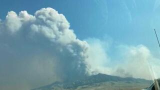 More evacuations issued for Harris Mountain Fire