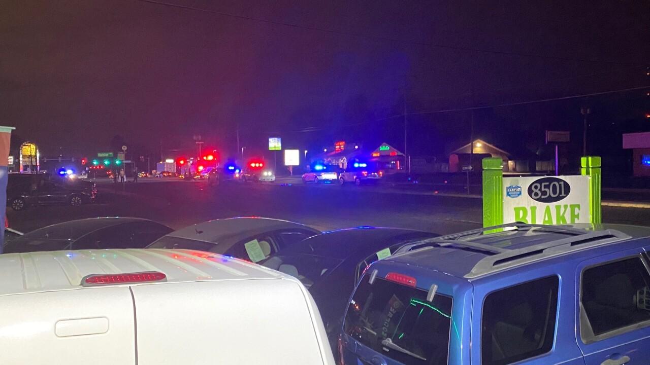 Pedestrian killed on Staples MillRoad