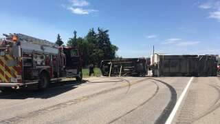 2 people injured in crash east of Great Falls