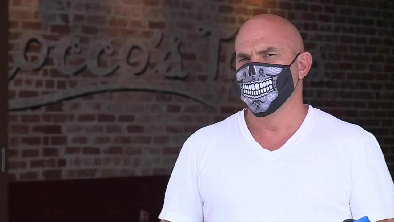 Rocco Mangel, owner of Rocco's Tacos, about restricting restaurant hours