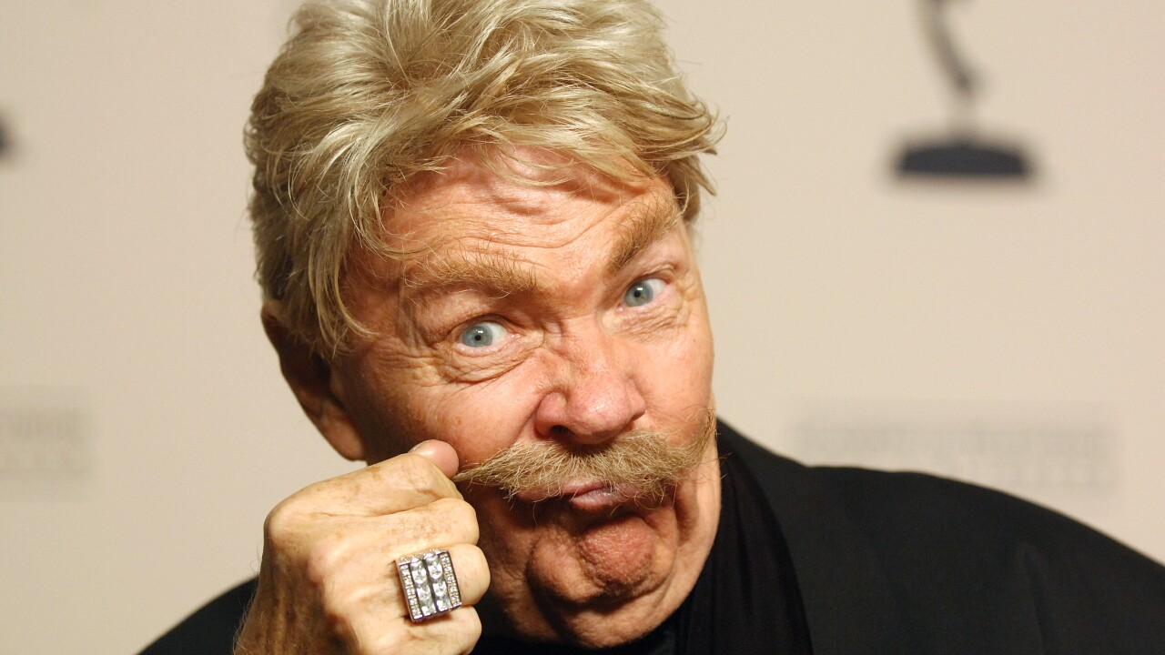 RIP TAYLOR, THE CONFETTI-TOSSING ACTOR AND COMEDIAN, IS DEAD AT 84