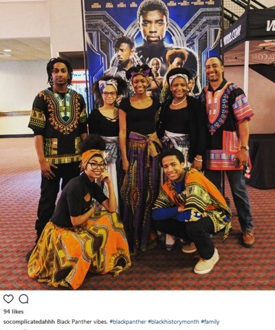 GALLERY: Black Panther fans go all out for opening night