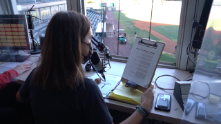 New Squirrels announcer makes history in control booth, paving way for future generations