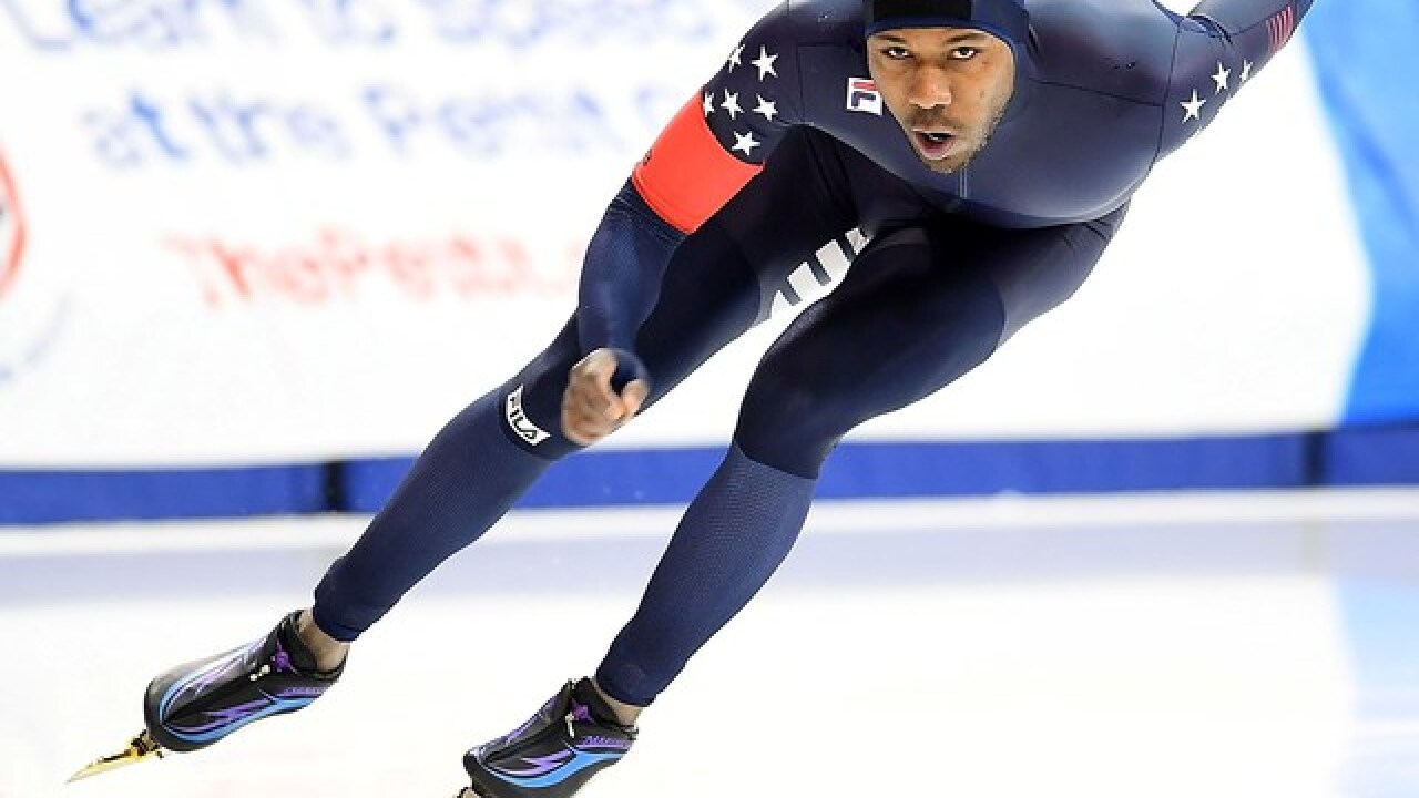 Shani Davis clinches 5th straight Olympics on familiar ice