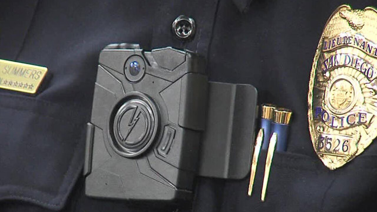 SDPD Chief: Officer body cameras a 'win-win'