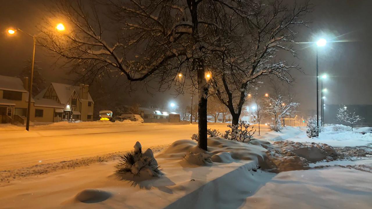 Snow Totals For Nov. 25-26, 2019 Colorado Snowstorm