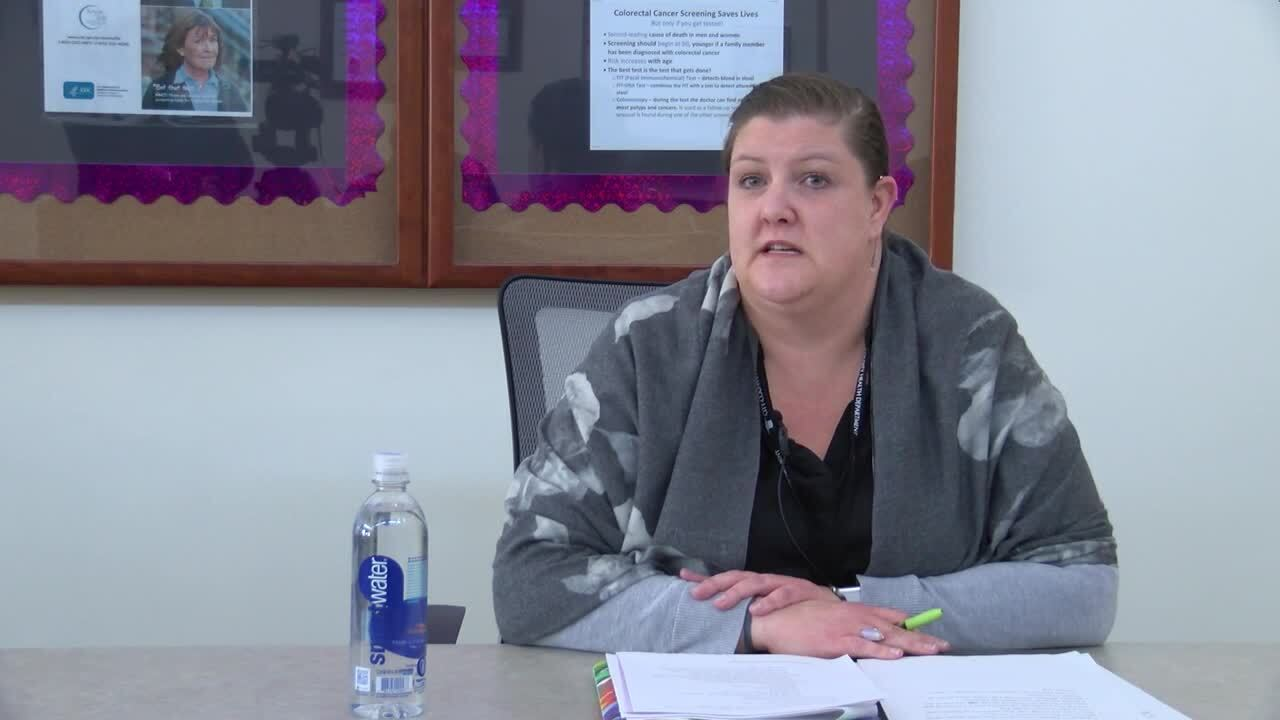 Trisha Gardner, the CCHD health officer