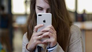 apple iphone user
