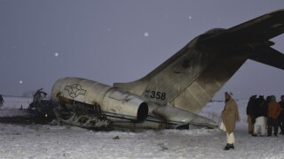 US officials confirm 'mystery plane' that crashed in Afghanistan is an American plane