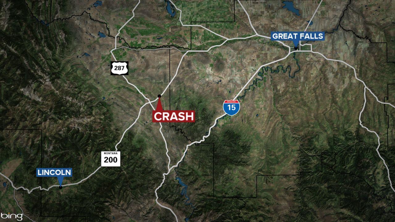 Man dies in crash along Highway 200