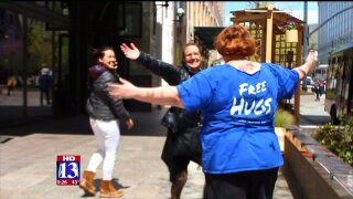 Uniquely Utah: Free hugs and the CuddleClub