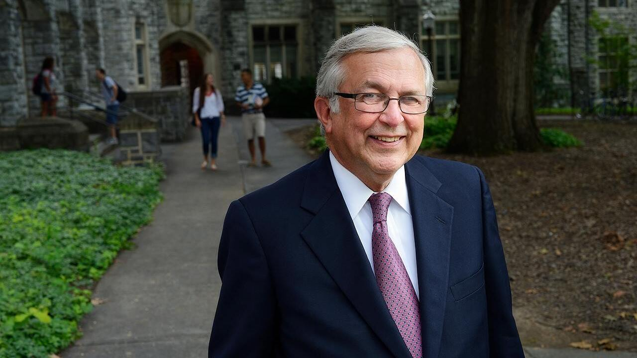 Charles Steger, 15th president of Virginia Tech, dies at 70