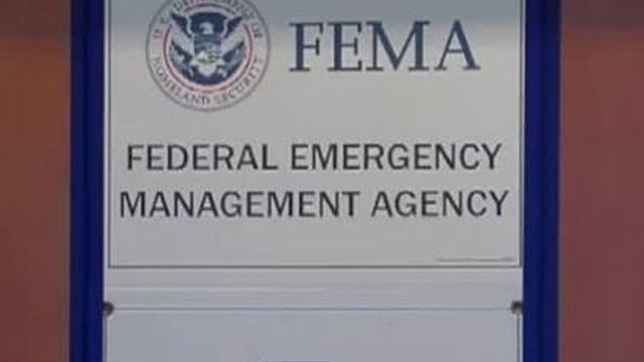 FEMA encourages homeowners to apply as soon as possible