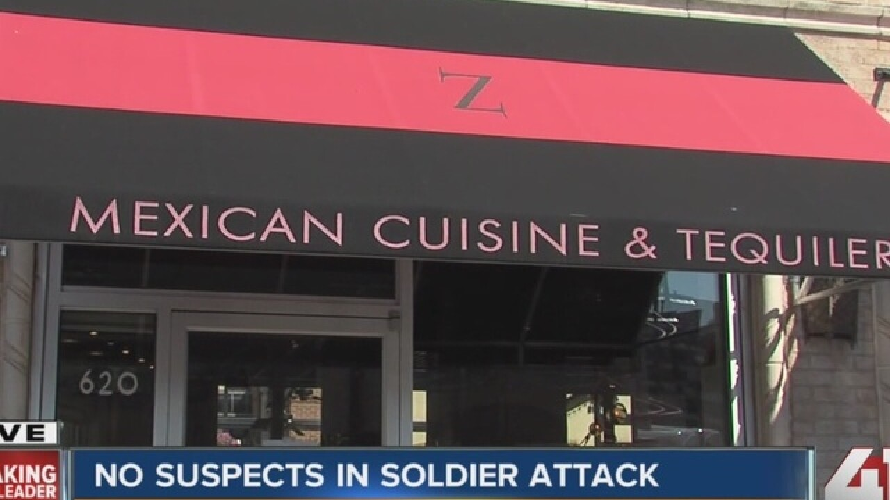 Army captain assaulted on Plaza out of hospital