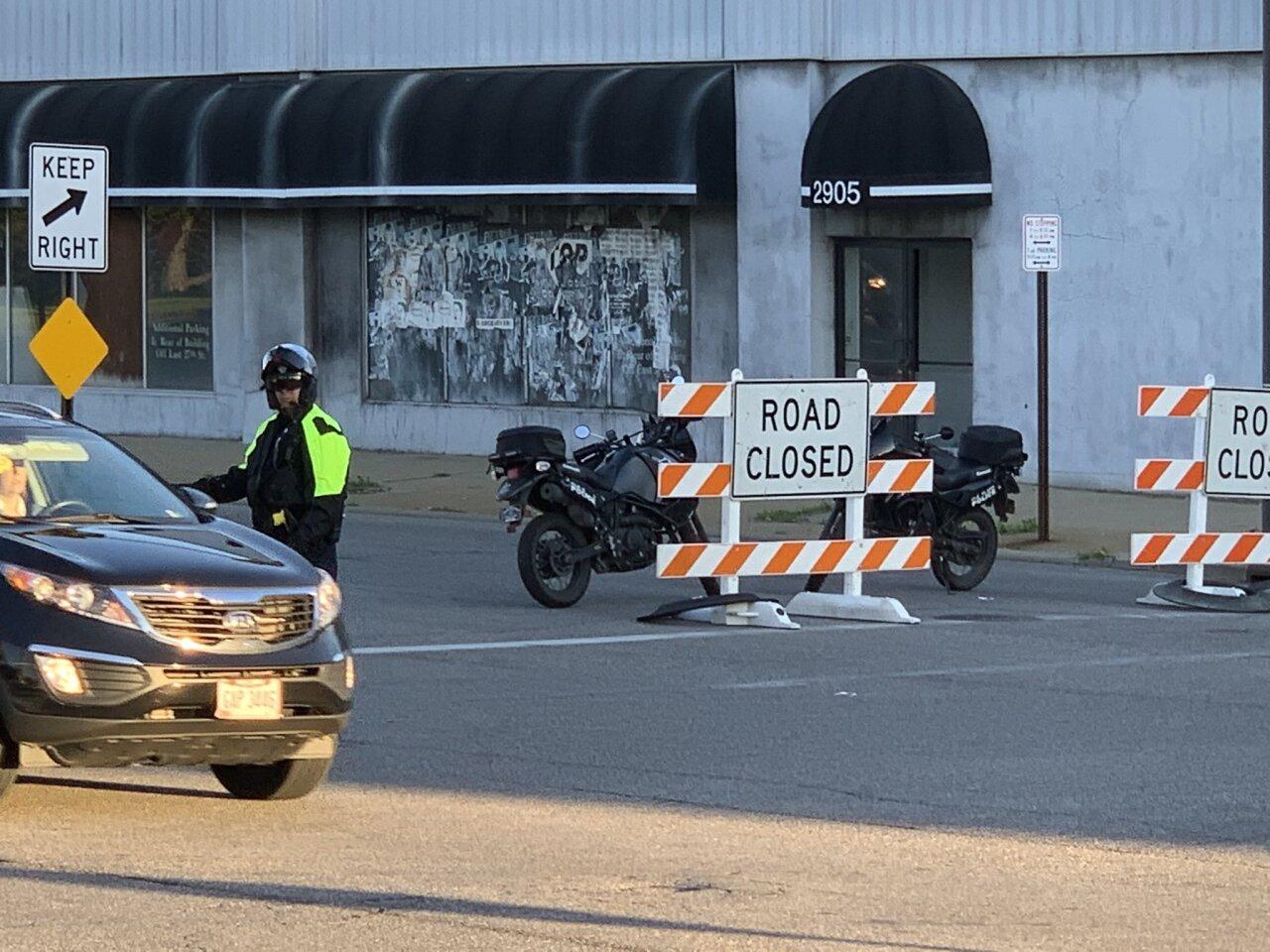 East 30th Street road closure