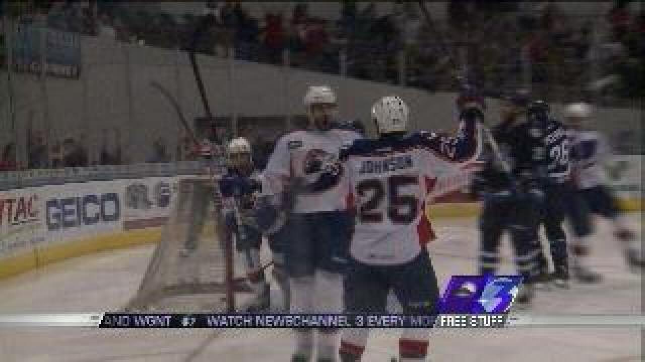 Norfolk Admirals beat IceCaps 6-1