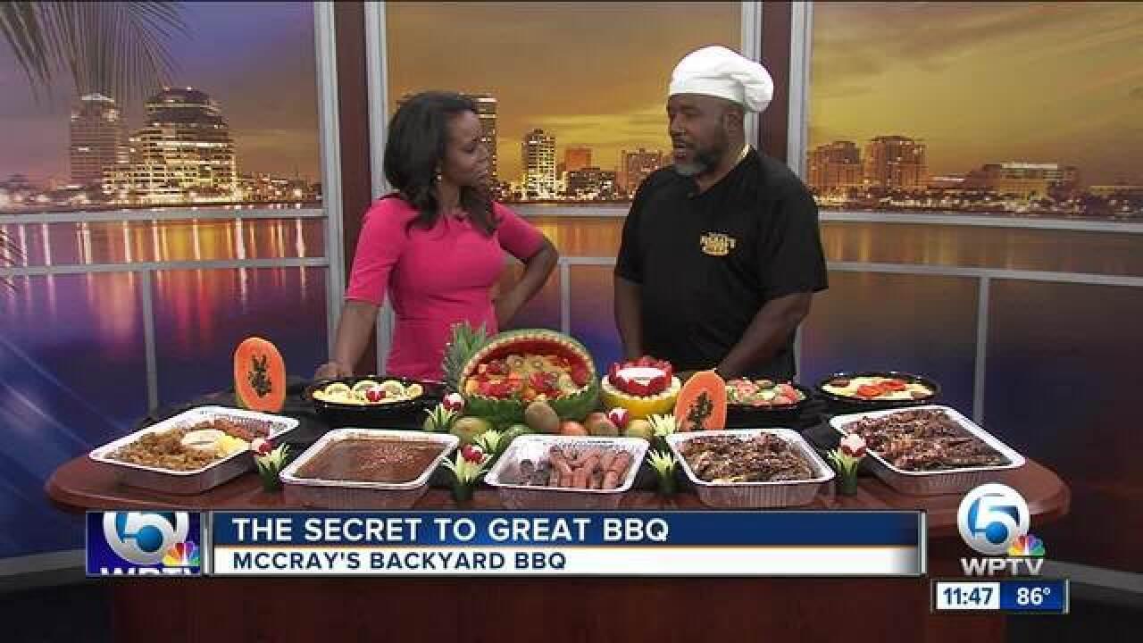 McCray's Backyard BBQ cooks up a tasty spread