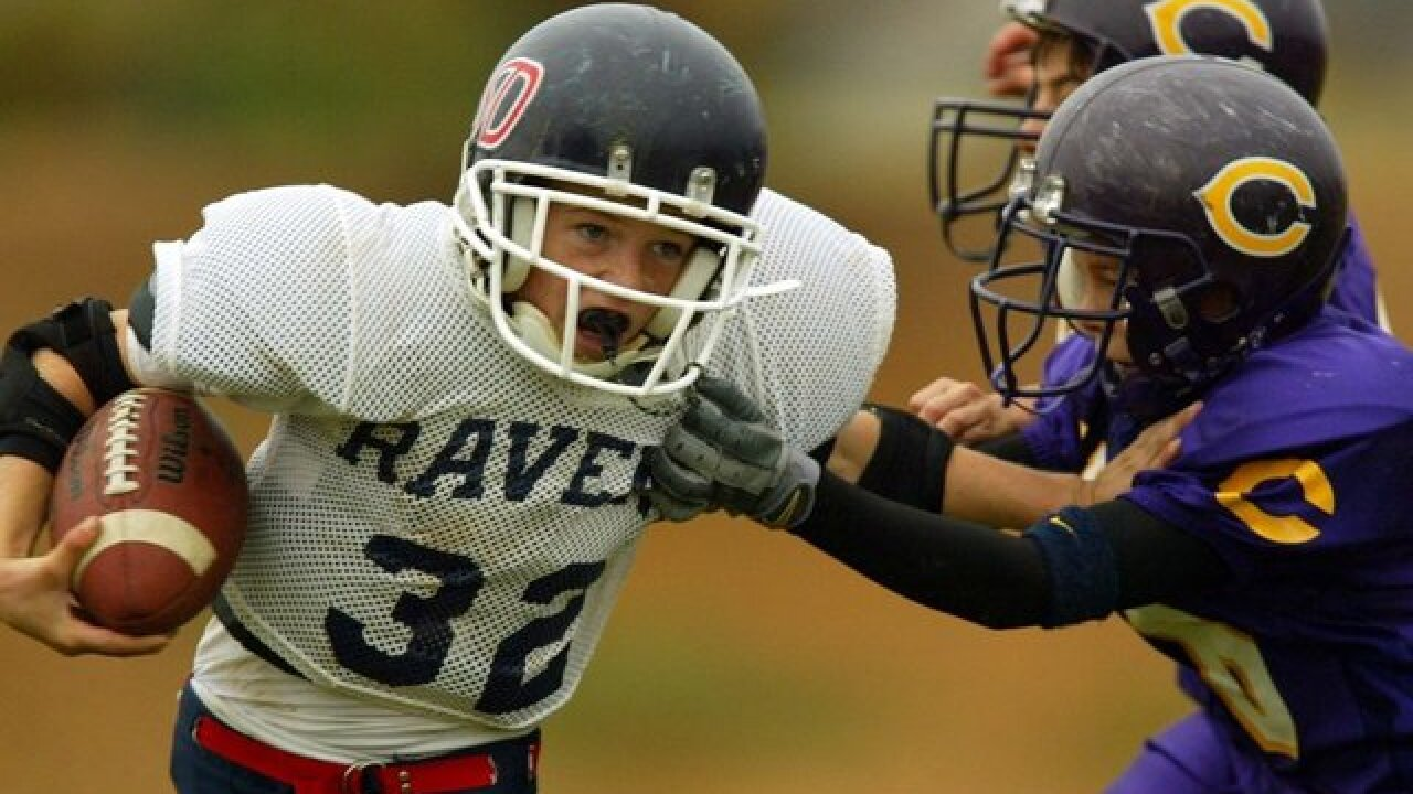 Bill that would ban tackle football before high school in California introduced